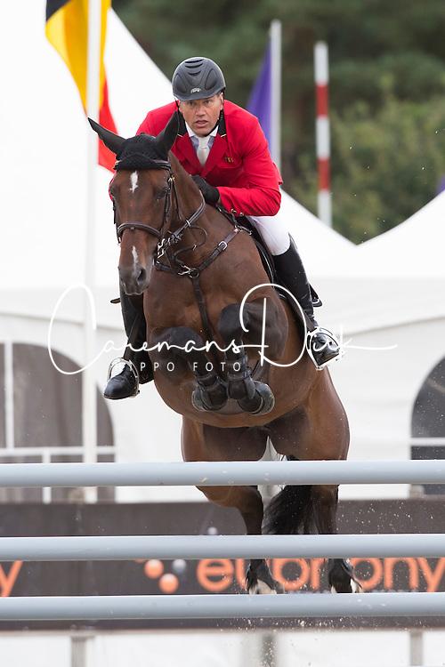 Van Roosbroeck Maurice (BEL) - Calumet<br /> Belgium Championship Jumping - Lanaken 2012<br /> © Dirk Caremans