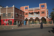 Auberge Tanssikhte, La Palmeraie, Tansikht, small roadside hotel guesthouse, Draa river valley, Morocco, north Africa