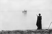 Watussi Man at Lake Tanganyika, Nyanza, Ruanda-Urundi (now Rwanda), 1937