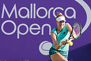 Alison Riske (USA) during the Mallorca Open at Country Club Santa Ponsa on June 22, 2018 in Mallorca, Spain. Photo Credit: Katja Boll/EVENTMEDIA.