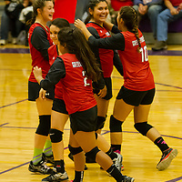 Green Forest Jv Volleyball vs. Berryville (10-05-15)