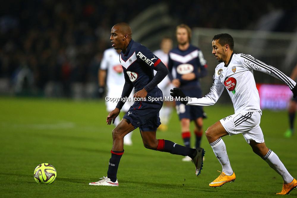 Nicolas Maurice Belay / Walid Mesloub - 06.12.2014 - Bordeaux / Lorient - 17eme journee de Ligue 1 -<br />Photo : Manuel Blondeau / Icon Sport