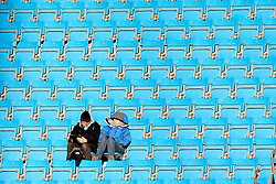 Manchester City fans pictured ahead of the Barclays Premier League clash between Manchester City and Newcastle United - Photo mandatory by-line: Matt McNulty/JMP - Mobile: 07966 386802 - 21/02/2015 - SPORT - Football - Manchester - Etihad Stadium - Manchester City v Newcastle United - Barclays Premier League