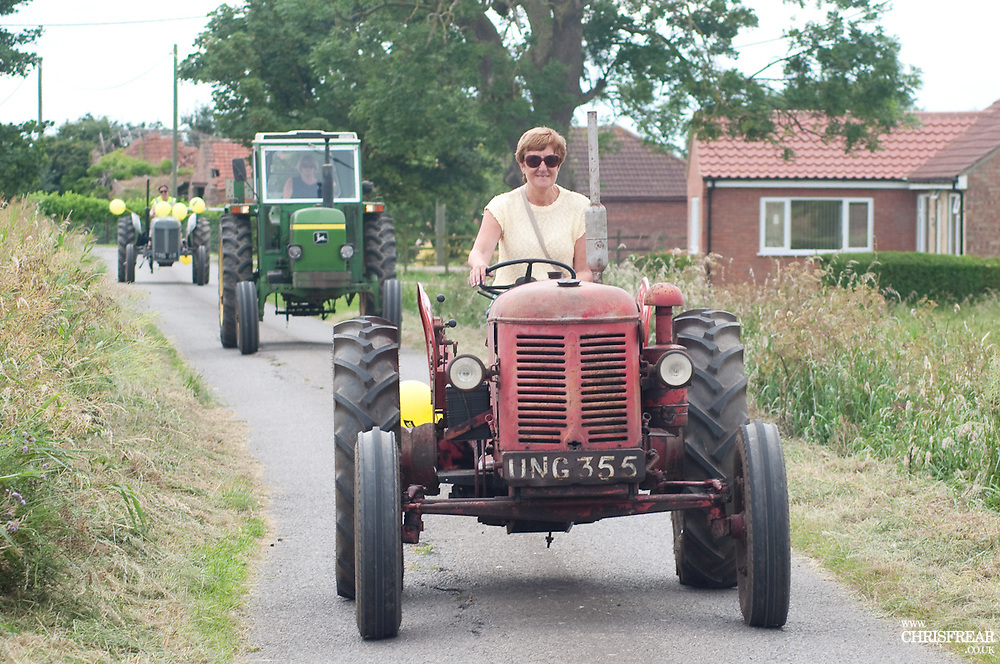 Ladies Tractor Run 2017