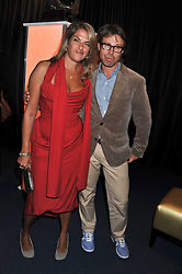 TRACEY EMIN and ? at the GQ Men of the Year 2011 Awards dinner held at The Royal Opera House, Covent Garden, London on 6th September 2011.