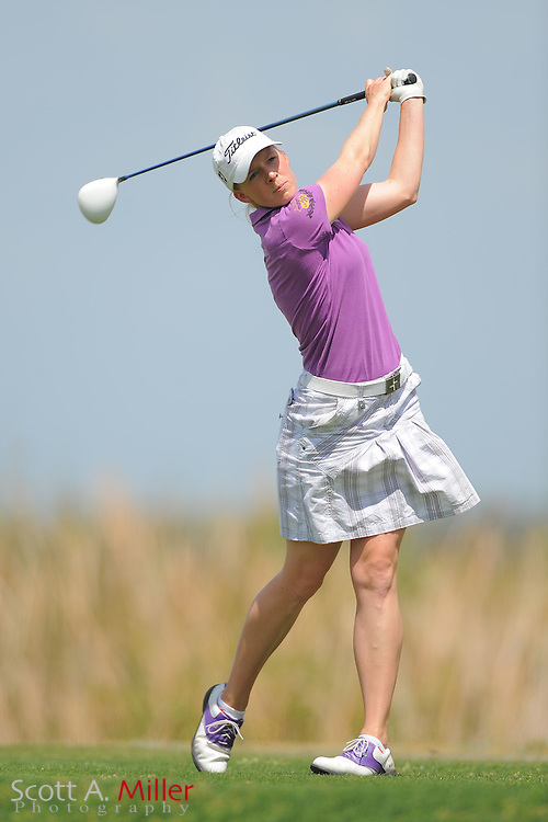 Sofie Andersson during the second round of the Symetra Tour's Florida's Natural Charity Classic at the Lake Region Yacht and Country Club on March 24, 2012 in Winter Haven, Fla. ..©2012 Scott A. Miller.