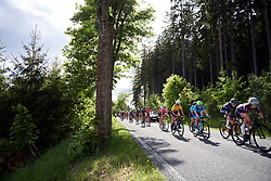 Barbara Guarischi (ITA) in dropped group at Lotto Thüringen Ladies Tour 2019 - Stage 2, a 116 km road race in Schleiz, Germany on May 29, 2019. Photo by Sean Robinson/velofocus.com