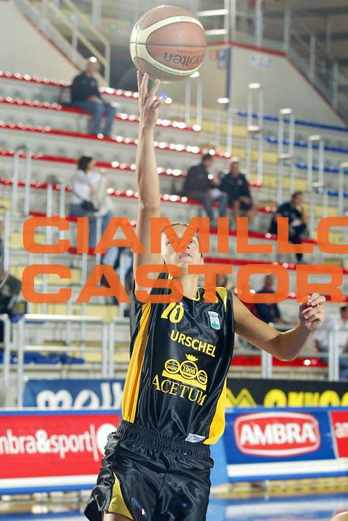 DESCRIZIONE : Taranto Campionato Italiano Donne A1 2005-2006 Acetum Cavezzo-Centro Sport Palladio Vicenza<br /> GIOCATORE : Aleotti<br /> SQUADRA : Acetum Cavezzo <br /> EVENTO : Campionato Italiano Donne A1 2005-2006<br /> GARA : Acetum Cavezzo Centro Sport Palladio Vicenza<br /> DATA : 02/10/2005 <br /> CATEGORIA :<br /> SPORT : Pallacanestro <br /> AUTORE : Agenzia Ciamillo-Castoria