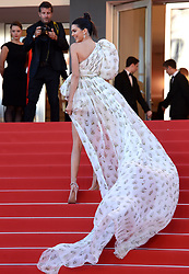 Kendall Jenner attends the 120 Beats Per Minute Gala Screening as part of the 70th Cannes Film Festival. Photo credit should read: Doug Peters/EMPICS Entertainment