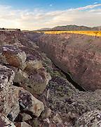Rio Grande Gorge near Taos.