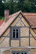 altes Fachwerkhaus, Ettersburg bei Weimar, Thüringen, Deutschland   old timber framed house, Ettersburg near Weimar, Thuringia, Germany