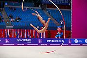 Filiorianu Ana Luiza was born in July 10, 1999 in Bucharest. She is a very good Romanian individual rhythmic gymnast.
