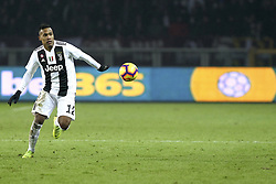 December 15, 2018 - Turin, Piedmont, Italy - Alex Sandro (Juventus FC) during the Serie A football match between Torino FC and Juventus FC at Olympic Grande Torino Stadium on December 15, 2018 in Turin, Italy. Torino lost 0-1 against Juventus. (Credit Image: © Massimiliano Ferraro/NurPhoto via ZUMA Press)