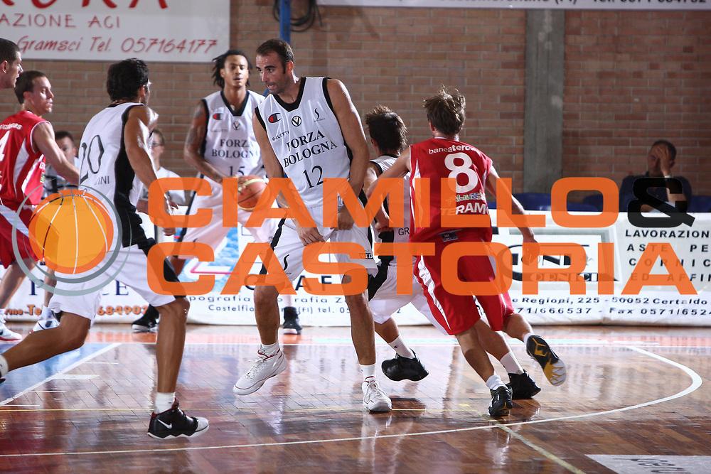DESCRIZIONE : Castelfiorentino Lega A 2009-10 Basket Torneo V. Martini Virtus Bologna Bancatercas Teramo<br /> GIOCATORE : Diego Fajandro<br /> SQUADRA : Virtus Bologna <br /> EVENTO : Campionato Lega A 2009-2010 <br /> GARA : Virtus Bologna Bancatercas Teramo<br /> DATA : 12/09/2009<br /> CATEGORIA : blocco<br /> SPORT : Pallacanestro <br /> AUTORE : Agenzia Ciamillo-Castoria/C.De Massis