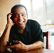NEW ORLEANS, LA – OCTOBER 28, 2009: Portrait of New Orleans jazz vocalist John  Boutte.