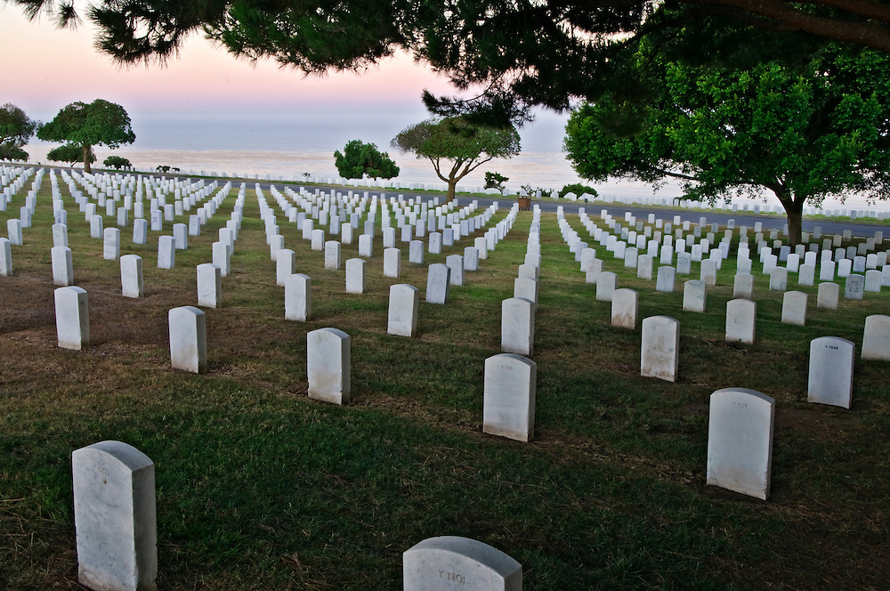 California, San Diego, Fort Rosecrans National Cemetery, Point Loma