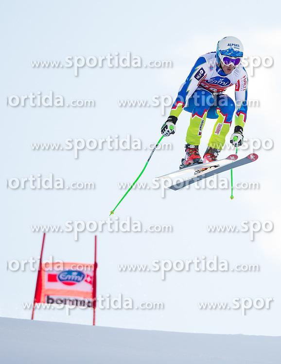 28.12.2013, Stelvio, Bormio, ITA, FIS Ski Weltcup, Bormio, Abfahrt, Herren, 2. Traininglauf, im Bild Rok Perko (SLO) // Rok Perko of Slovenia in action during mens 2nd downhill practice of the Bormio FIS Ski Alpine World Cup at the Stelvio Course in Bormio, Italy on 2012/12/28. EXPA Pictures © 2013, PhotoCredit: EXPA/ Johann Groder