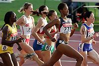 Friidrett, 7. august 2005, VM Helsinki, <br /> World Championships in Athletics<br /> Kameisha Bennett, USA (777) 800 meter