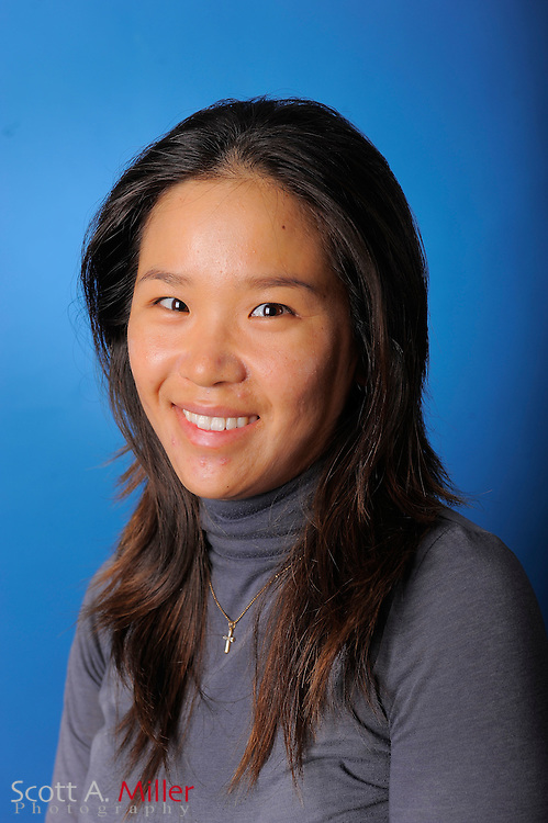 Marina Choi during a portrait session prior to the second stage of LPGA Qualifying School at the Plantation Golf and Country Club on Sept. 24, 2011 in Venice, FL...©2011 Scott A. Miller