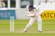 Yorkshire's Steven Patterson during the Specsavers County Champ Div 1 match between Somerset County Cricket Club and Yorkshire County Cricket Club at the County Ground, Taunton, United Kingdom on 17 May 2016. Photo by Graham Hunt.