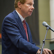 Former Representative, Tom Davis, during the Antonin Scalia Law School Dedication, at the Antonin Scalia School of Law, Arlington, VA, Thursday, October 6,, 2016.