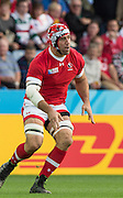 Leicester, Great Britain, Jamie CUDMORE, during the Pool D game, Canada vs Romania.  2015 Rugby World Cup,  Venue, Leicester City Stadium, ENGLAND.  Tuesday    06/10/2015.   [Mandatory Credit; Peter Spurrier/Intersport-images]