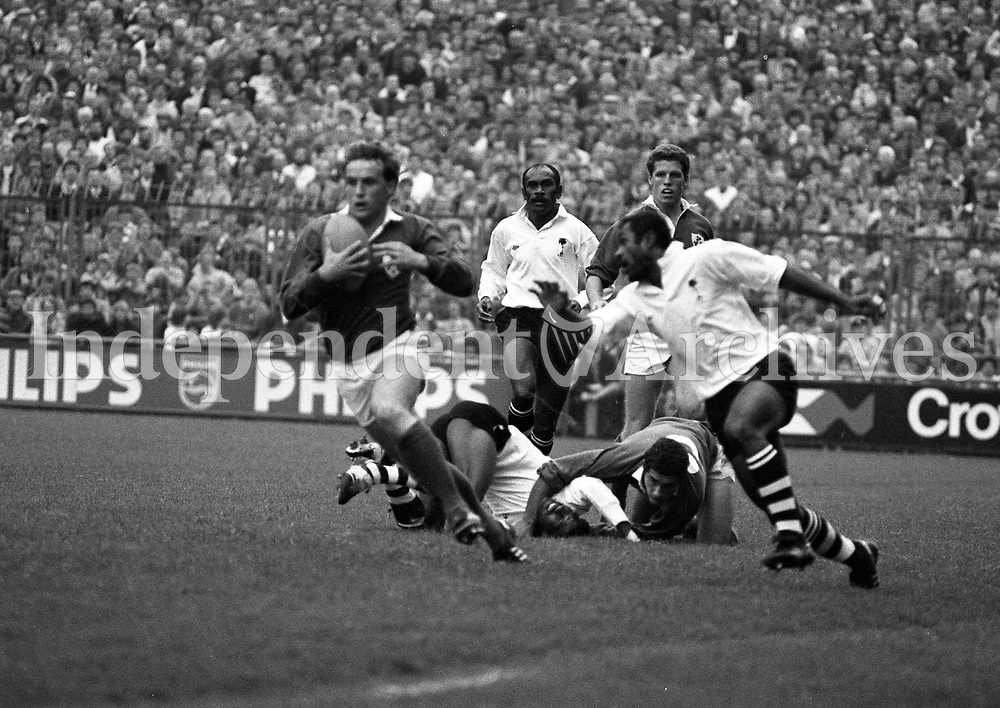 Ireland V Fiji at Lansdowne Road, Dublin, 19/10/1985 (Part of the Independent Newspapers Ireland/NLI Collection).