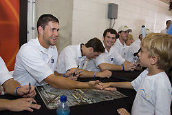 27 May 2007: Duke Blue Devils midfielder Bo Carrington (31) signs autographs at M&T Bank Stadium in Baltimore, MD.