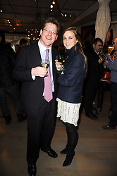 LEE RUDDY and HELS FENWICK at reception to raise funds for a Ugandan School Project supported by the Henry van Straubenzee Memorial Fund held at Few & Far, 242 Brompton Road, London SW3 on 11th February 2010.