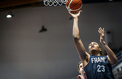 Begarin  Juhann of France during basketball match between National teams of Slovenia and France in the Group Phase C of FIBA U18 European Championship 2019, on July 27, 2019 in Nea Ionia Hall, Volos, Greece. Photo by Vid Ponikvar / Sportida