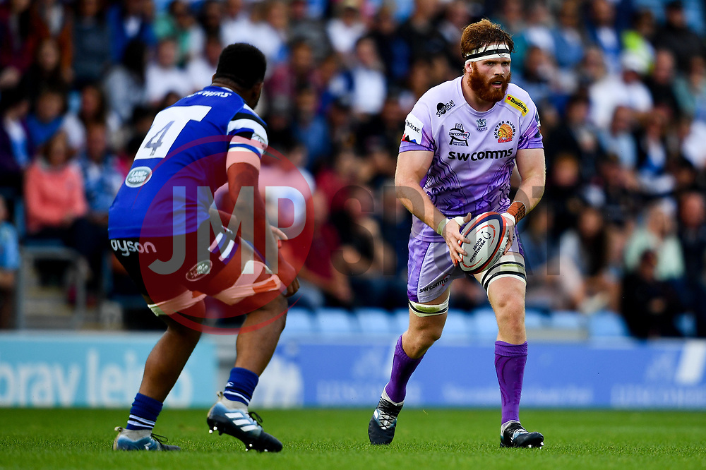 Jannes Kirsten of Exeter Chiefs  - Mandatory by-line: Ryan Hiscott/JMP - 21/09/2019 - RUGBY - Sandy Park - Exeter, England - Exeter Chiefs v Bath Rugby - Premiership Rugby Cup