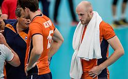 25-09-2016 NED: EK Kwalificatie Nederland - Turkije, Koog aan de Zaan<br /> Jasper Diefenbach #6
