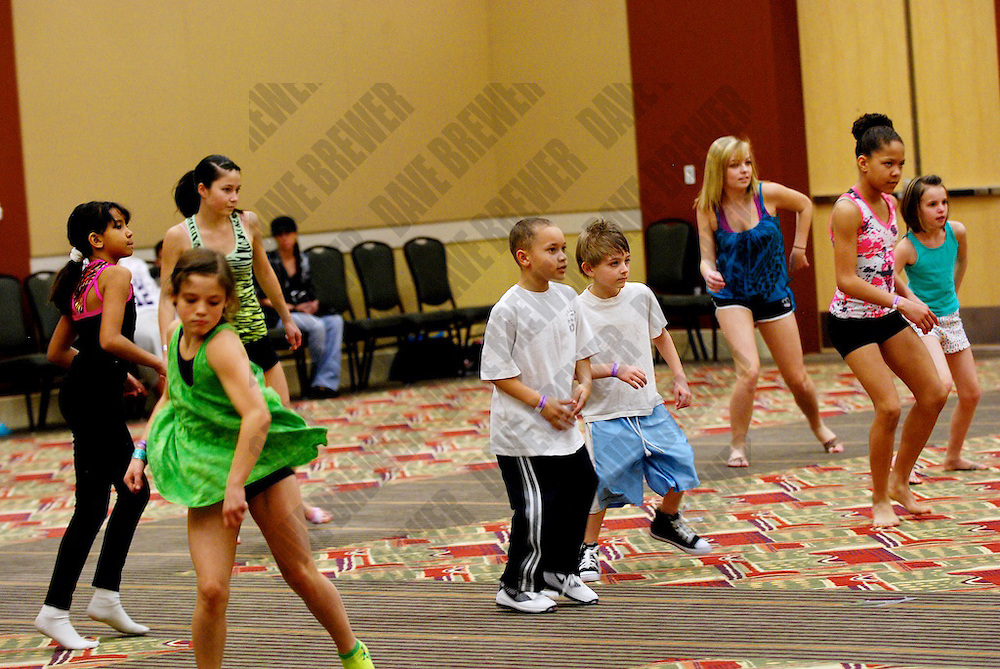 UDC Master Class with SYTYCD's Nathan Trasoras on March 6, 2010 in Layton UT