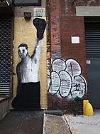 Graffiti near Fort Green Park, Brooklyn.