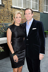 NADJA SWAROVSKI and RUPERT ADAMS at a dinner hosted by Harper's Bazaar to celebrate Browns 40th Anniversary in aid of Women International held at The Regent Penthouses & Lofts, 16-18 Marshall Street, London on 20th May 2010.