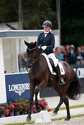 Wolf Stefanie, GER, Matchball Old<br /> Longines FEI/WBFSH World Breeding Dressage Championships for Young Horses - Ermelo 2017<br /> © Hippo Foto - Dirk Caremans<br /> 04/08/2017