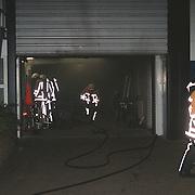 Binnenbrand magazijn havenmeester jachthaven Gooierhoofd Huizen