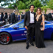 Hurlingham Club ,London, England, UK. 10th July, 2017. Shanie Ryan is a Radio Presenter attend The Grand Prix Ball attracted a host of star-studded celebrity guests last night at Hurlingham Club , including Formula 1 drivers as well as iconic Formula 1 cars. Guests mingled with the elite whist being enterained with live performances by award winning UK artists and DJs ahead of the British Grand Prix at Silverstone.