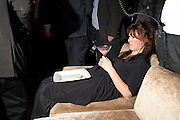 CHRISTINA USHER, Launch of Nicky Haslam's book Redeeming Features. Aqua Nueva. 5th floor. 240 Regent St. London W1.  5 November 2009.  *** Local Caption *** -DO NOT ARCHIVE-© Copyright Photograph by Dafydd Jones. 248 Clapham Rd. London SW9 0PZ. Tel 0207 820 0771. www.dafjones.com.<br /> CHRISTINA USHER, Launch of Nicky Haslam's book Redeeming Features. Aqua Nueva. 5th floor. 240 Regent St. London W1.  5 November 2009.