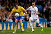 Leeds United defender Ben White (5), on loan from Brighton & Hove Albion,  during Leeds United's 100th anniversary EFL Sky Bet Championship match between Leeds United and Birmingham City at Elland Road, Leeds, England on 19 October 2019.