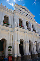 Holy House of Mercy in Senado Square, Macau.