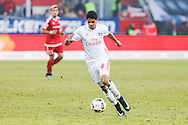 Douglas Dos Santos Justino de Melo of Hamburger SV during the Bundesliga match at Audi Sportpark, Ingolstadt<br /> Picture by EXPA Pictures/Focus Images Ltd 07814482222<br /> 28/01/2017<br /> *** UK & IRELAND ONLY ***<br /> <br /> EXPA-EIB-170128-1398.jpg