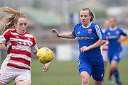 Hamilton's Gillian Inglis and Farmington's Robin Smith - Forfar Farmington v Hamilton Academical in the SWPL Premier League One at Station Park, Forfar, <br /> <br /> <br />  - &copy; David Young - www.davidyoungphoto.co.uk - email: davidyoungphoto@gmail.com