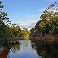 Rio Akanan. Edo. Bolivar. Venezuela. Akanan river. Edo. Bolivar. Febrero 23, 2013. Jimmy Villalta.