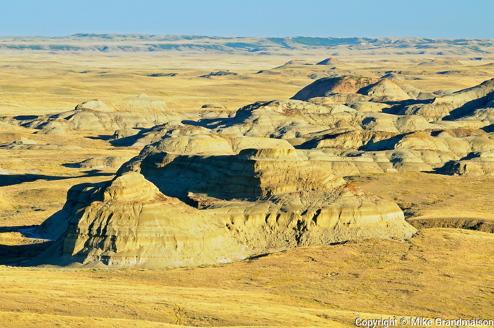 Killdeer Badlands (East Block)<br /> Grasslands National Park<br /> Saskatchewan<br /> Canada