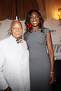 7 July 2010- New York, NY- Former Mayor of New York City David N.Dinkins and Venus Williams at The Yale Club for Power Play with Tennis Icon Venus Williams as she begins her promotion of her new book ' Come to Win ' published by HarperCollins, on July 7, 2010 in New York City.