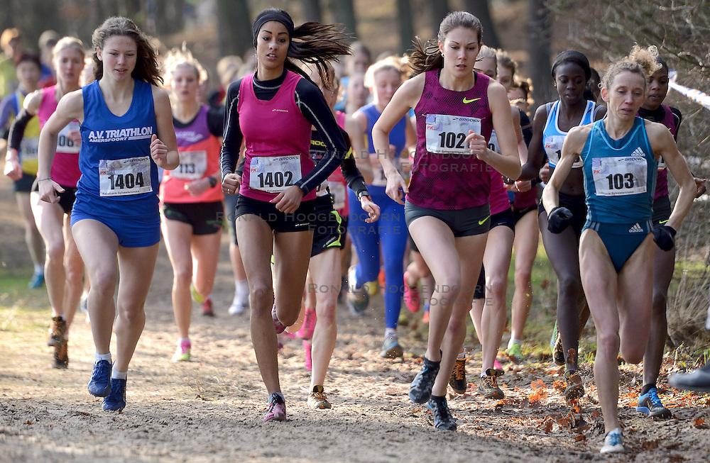 31-12-2014 NED: Rabobank Sylvestercross, Soest<br /> Maureen Koster en Veerle Dejaeghere 103