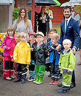 27-8-2015  SWEDEN Mariebergsskogen - Prince Carl Philip and Princess Sofia visit   Mariebergsskogen celebrates 90 years. The park has approximately 500 000 visits per year and is open 15 hours a day, year round. Mariebergsskogen donated to Karlstad City, Karlstad municipality, in 1895 by Dr. Conrad Höök. The Royal couple will visit the Nature Centre, Children's vegetable garden as well as a guided tour of the park. during day 2 . Two day visit of Prince Carl Philip and Princess Sofia's official visit to Värmland . COPYRIGHT ROBIN UTRECHT