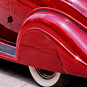 """""""Ruby Red Terraplane""""<br /> <br /> A dreamy streamlined vintage Terraplane is all wrapped up in a hot ruby red!!<br /> <br /> Cars and their Details by Rachel Cohen"""