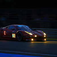 #62, Ferrari 458 Italia, Scuderia Corsa, driven by William Sweedler, Townsend Bell, Jeff Segal, 24 Heures Du Mans , 18/06/2016,